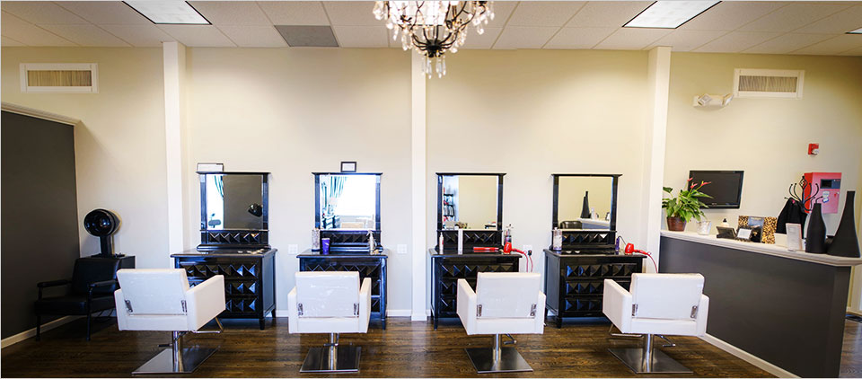 hair revue salon interior